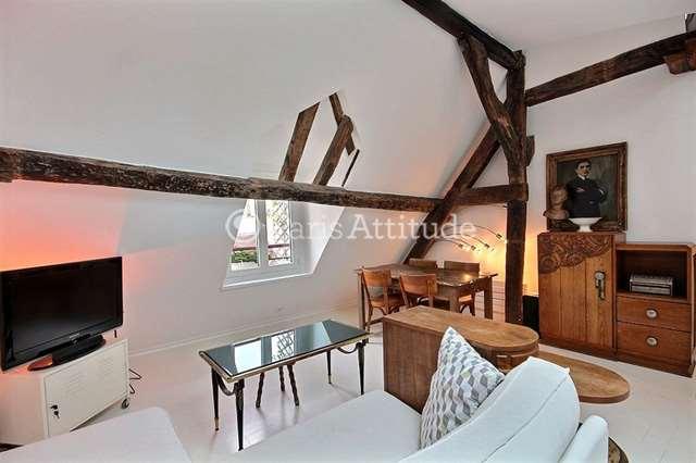 Louer Appartement meublé 1 Chambre 30m² rue Saint Martin, 75003 Paris