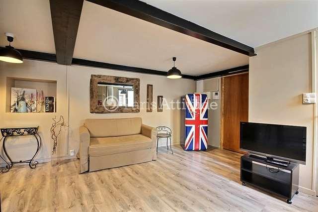 Rent furnished Apartment 1 Bedroom 37m² rue d Alexandrie, 75002 Paris