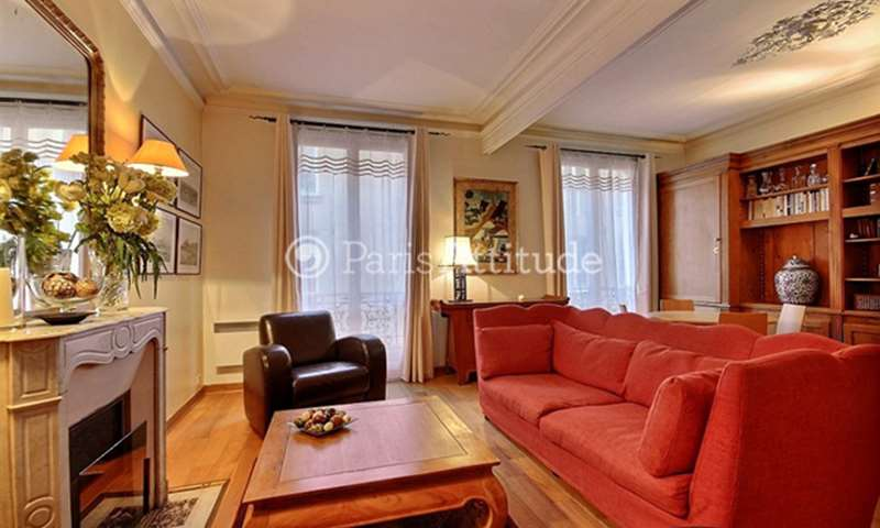 Location Appartement 1 Chambre 55m² rue Lauriston, 75016 Paris
