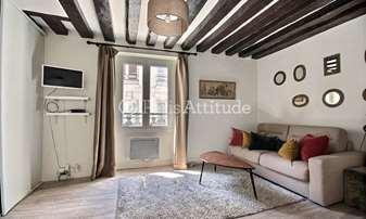 Rent Apartment Studio 25m² rue des Canettes, 6 Paris