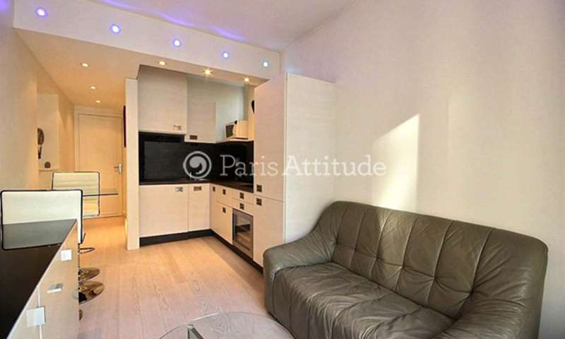 Rent Apartment 1 Bedroom 30m² rue Berlioz, 16 Paris