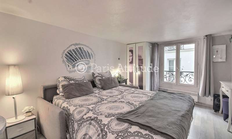 Rent Apartment Studio 22m² rue des Gravilliers, 75003 Paris
