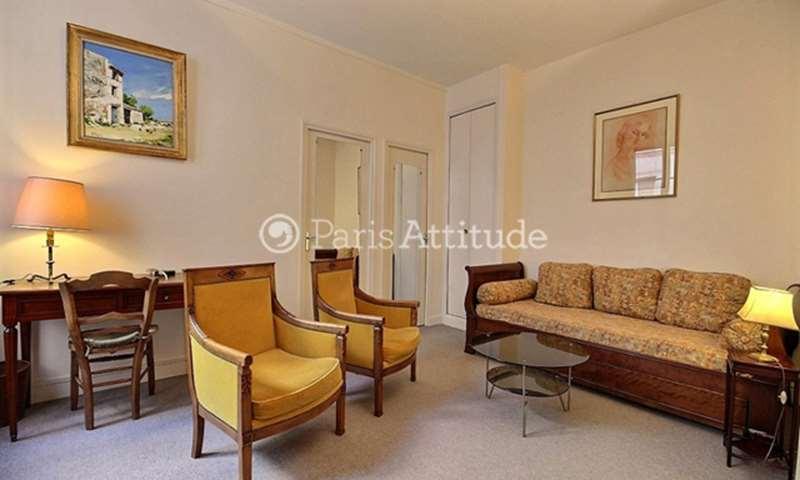 Rent Apartment 1 Bedroom 42m² rue Rousselet, 7 Paris