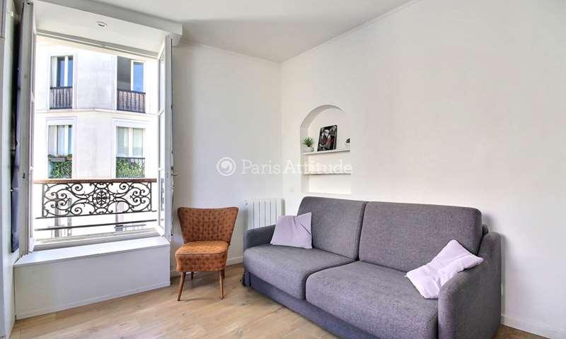 Rent Apartment Studio 20m² rue Andre Barsacq, 75018 Paris