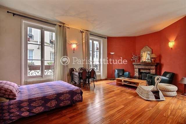 Louer Appartement meublé Studio 45m² rue Custine, 75018 Paris