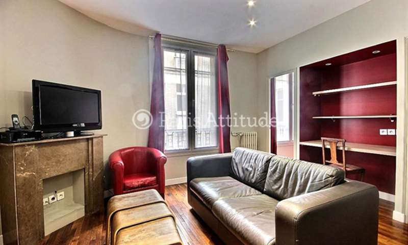 Rent Apartment 1 Bedroom 39m² rue Pergolese, 75016 Paris