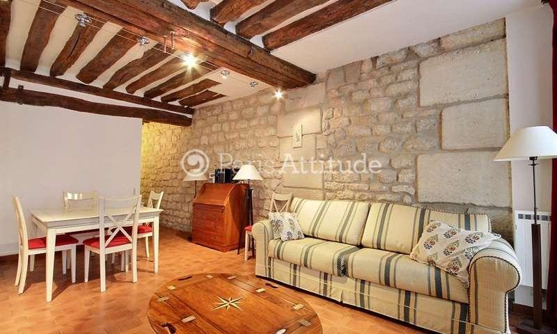 Rent Apartment 1 Bedroom 35m² rue de Beaune, 75007 Paris