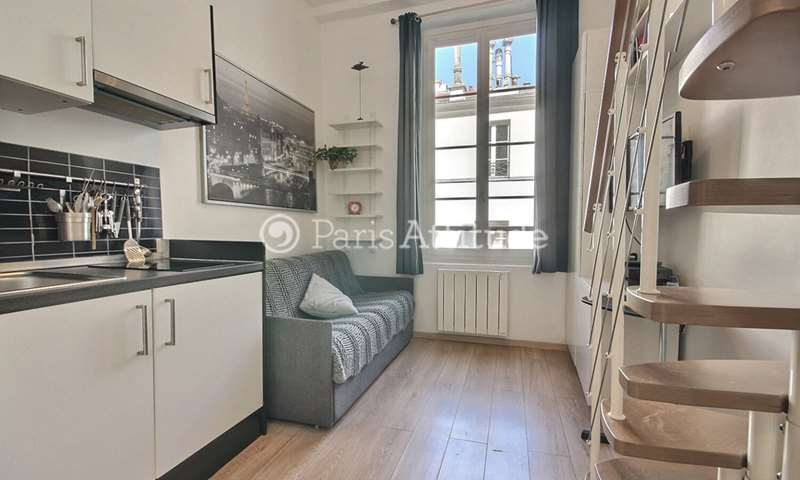 Rent Apartment Studio 15m² rue de la Grande Truanderie, 75001 Paris