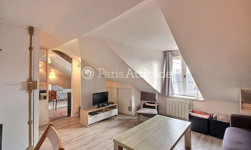 Rent Apartment 1 Bedroom 22m² rue des Archives, 3 Paris