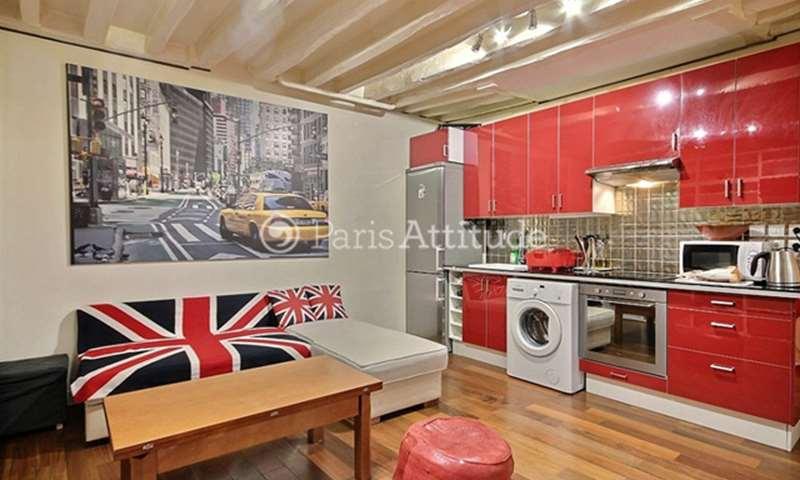 Location Appartement 1 Chambre 31m² rue de Picardie, 75003 Paris