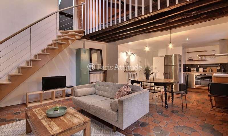 Rent Duplex 1 Bedroom 45m² rue de Charenton, 12 Paris