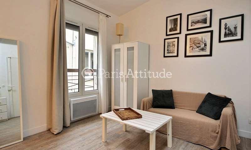 Rent Apartment Studio 19m² rue de Rochechouart, 9 Paris