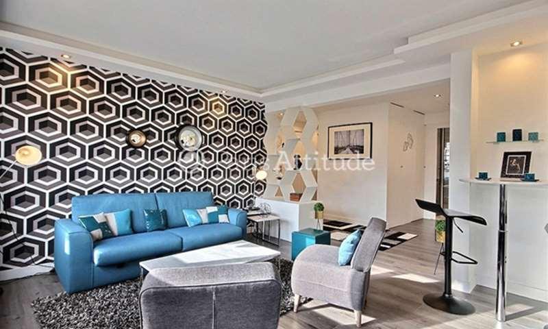 Location Appartement 2 Chambres 71m² rue Lekain, 16 Paris
