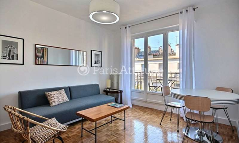 Rent Apartment Studio 27m² rue Joseph Sansboeuf, 8 Paris