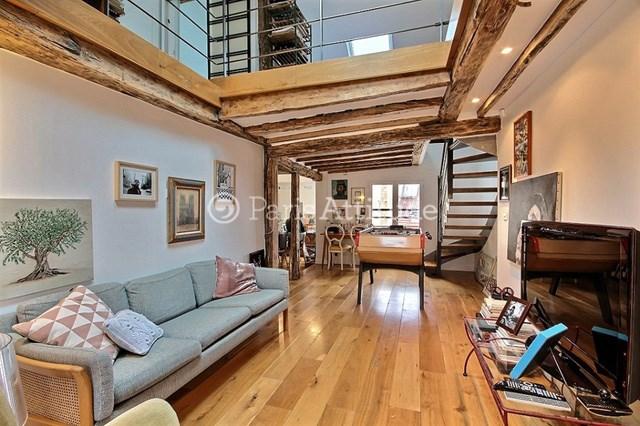 Location Duplex 2 Chambres 70m² rue du Mont Thabor, 75001 Paris