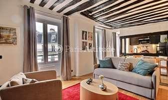 Rent Apartment 1 Bedroom 45m² rue de Turenne, 3 Paris
