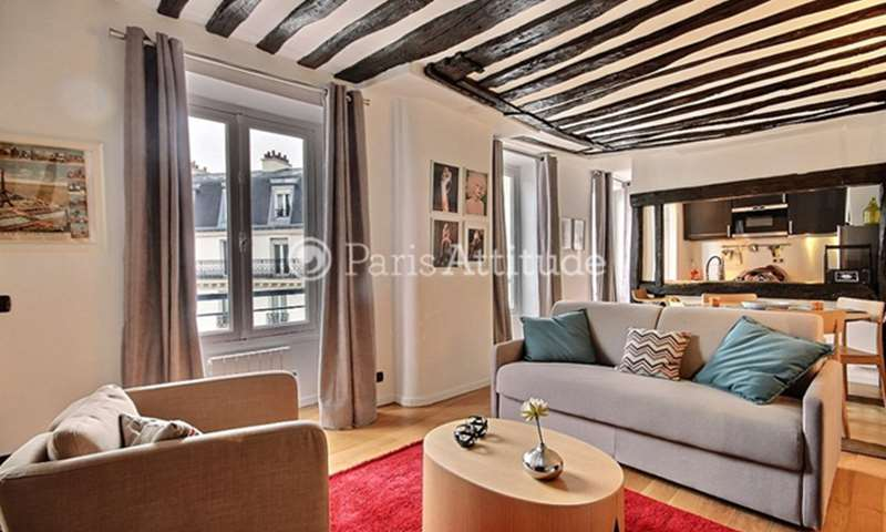 Rent Apartment 1 Bedroom 45m² rue de Turenne, 3 Paris