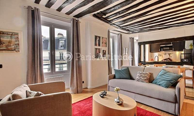 Location Appartement 1 Chambre 45m² rue de Turenne, 75003 Paris