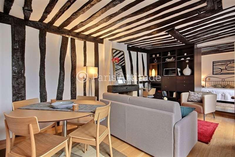Louer un appartement paris 75003 45m le marais ref for Louer chambre sans fenetre
