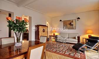 Rent Apartment 2 Bedrooms 75m² avenue Bosquet, 7 Paris