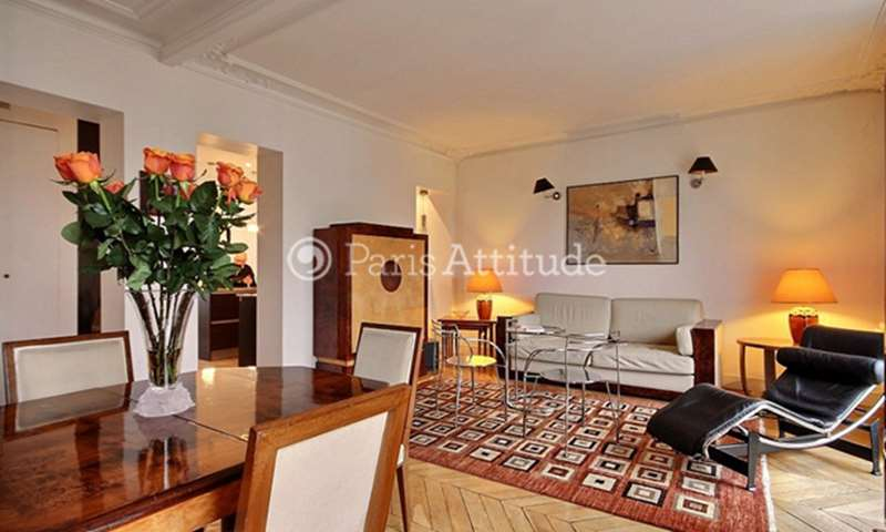 Rent Apartment 2 Bedrooms 75m² avenue Bosquet, 7 Paris