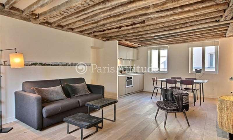 Rent Apartment 1 Bedroom 47m² rue Daval, 11 Paris
