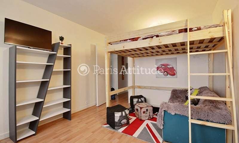 Rent Apartment Studio 28m² avenue de Choisy, 75013 Paris
