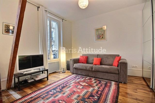 Location Appartement Studio 35m² rue Durantin, 75018 Paris