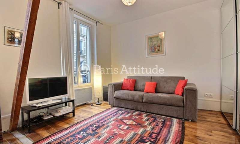 Location Appartement Studio 35m² rue Durantin, 18 Paris