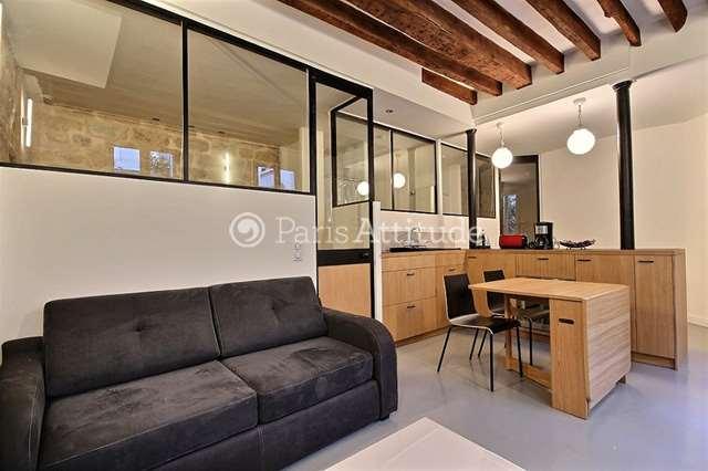 Rent Apartment in Paris 75002 - 45m² Montorgueil - ref 12099