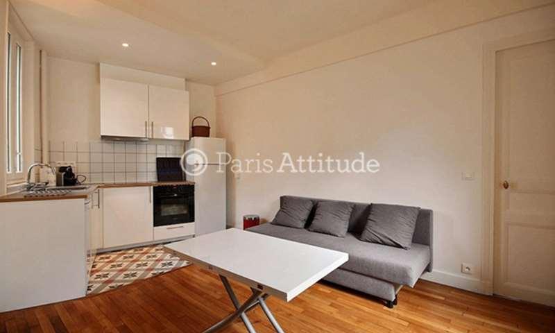 Rent Apartment 1 Bedroom 36m² rue des Prairies, 20 Paris