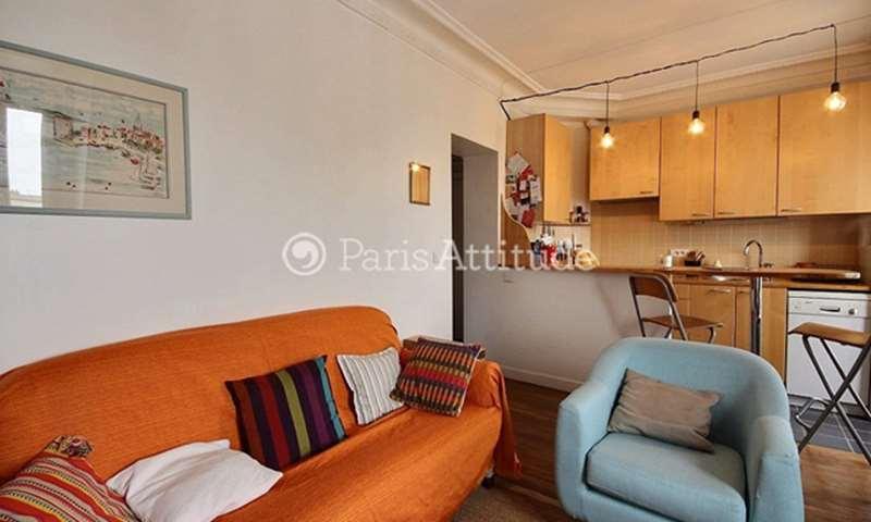 Rent Apartment 1 Bedroom 29m² cité Lemercier, 17 Paris
