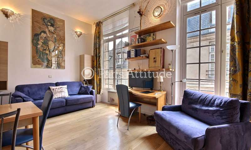 Rent Apartment Studio 25m² rue de Braque, 3 Paris