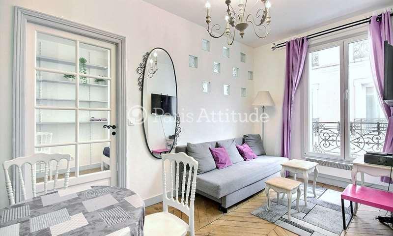 Rent Apartment 1 Bedroom 27m² rue Rodier, 9 Paris
