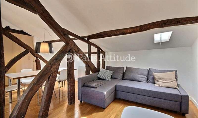 Rent Duplex 2 Bedroom 65m² rue Tiquetonne, 75002 Paris