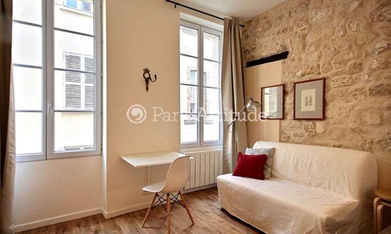 Location Appartement Studio 15m² rue Pierre Leroux, 7 Paris