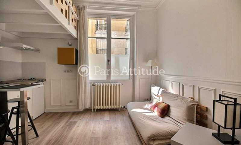 Rent Apartment Studio 16m² square de Robiac, 75007 Paris