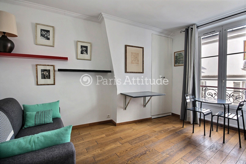 Appartement Studio 16 m² Montmartre