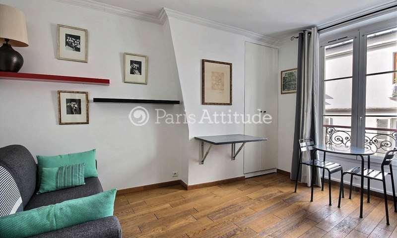 Rent Apartment Studio 16m² rue Tholoze, 75018 Paris