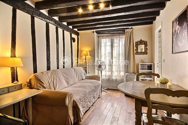 Rent Apartment 1 Bedroom 26m² rue Guisarde, 75006 Paris