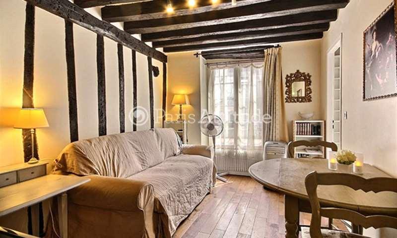 Rent Apartment 1 Bedroom 26m² rue Guisarde, 6 Paris