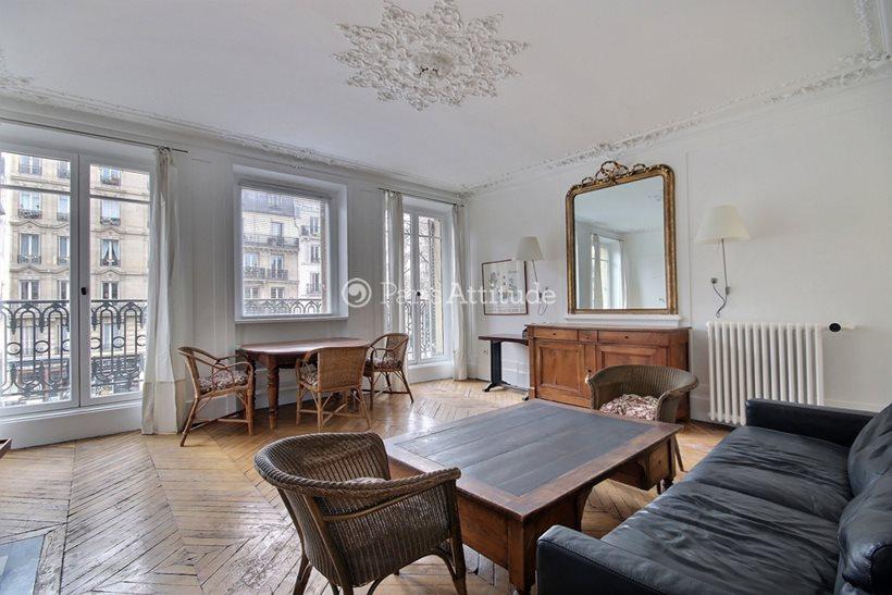 Rent furnished Apartment 2 Bedrooms 115m² boulevard Beaumarchais, 75011 Paris