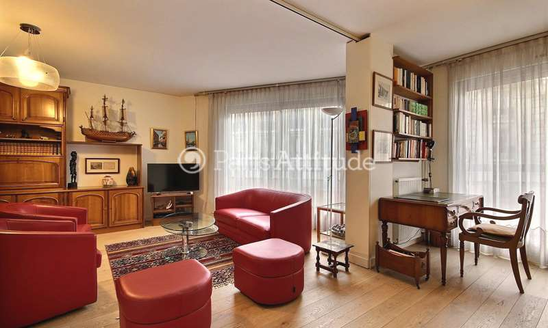 Rent Apartment 2 Bedrooms 95m² avenue emile Zola, 15 Paris