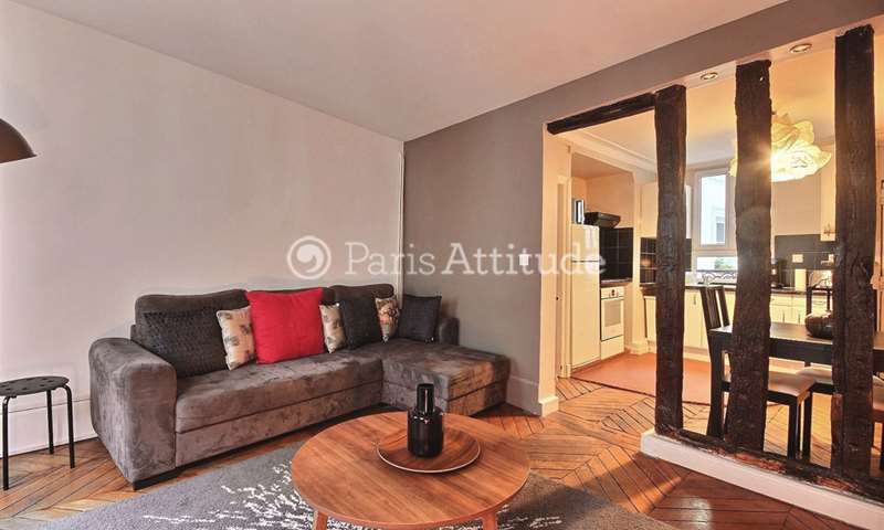 Rent Apartment 2 Bedrooms 64m² boulevard du Temple, 3 Paris