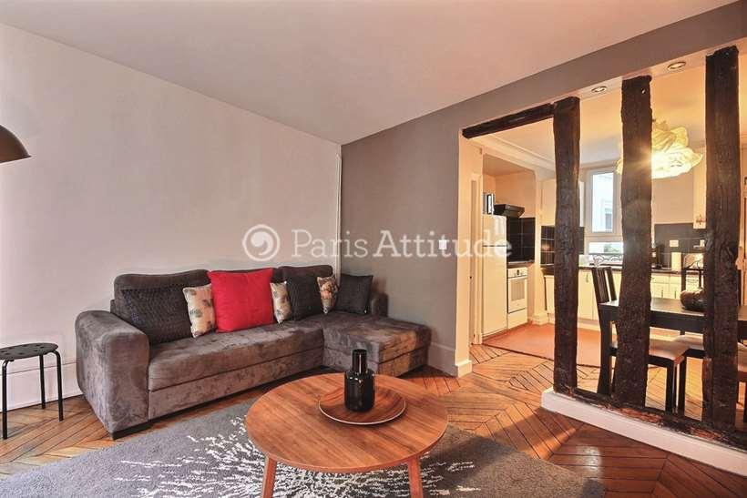 Aluguel Apartamento mobiliado 2 quartos 64m² boulevard du Temple, 75003 Paris