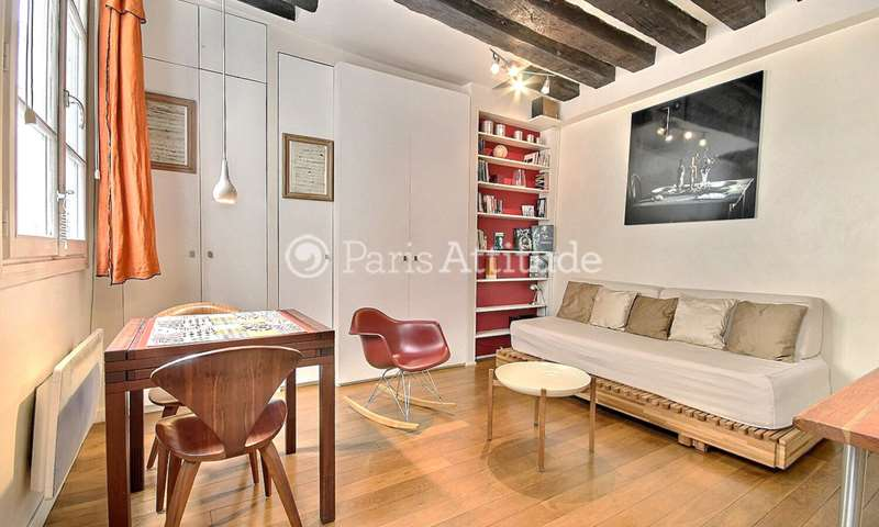 Location Appartement Studio 19m² rue Dussoubs, 2 Paris