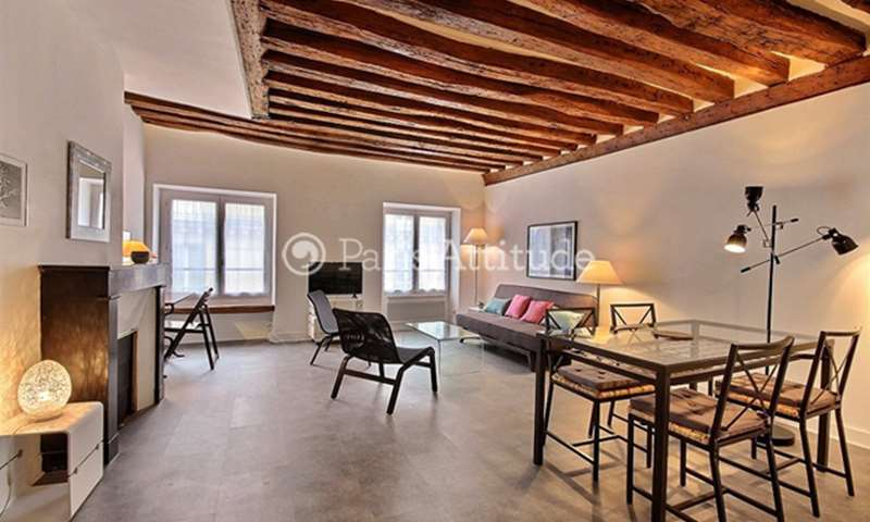 Rent Apartment 1 Bedroom 60m² rue Coquilliere, 1 Paris