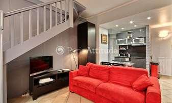 Rent Duplex 1 Bedroom 42m² rue des Arquebusiers, 4 Paris