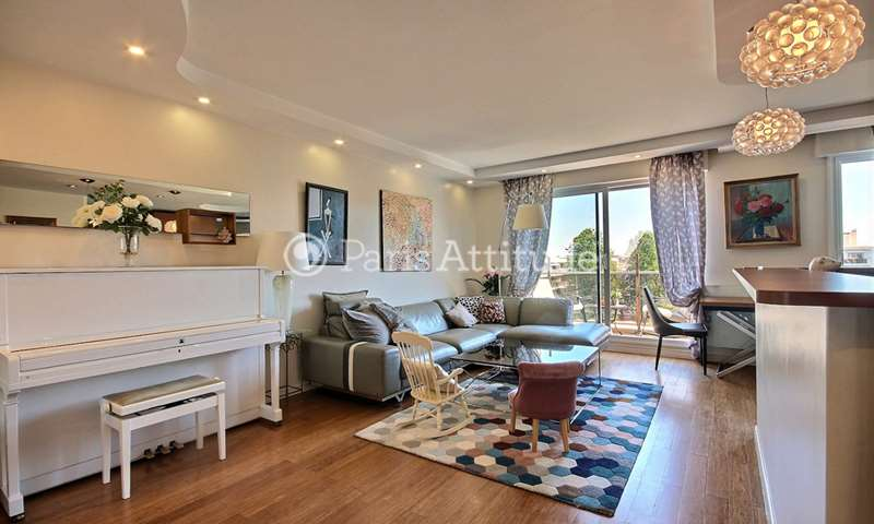 Rent Apartment 3 Bedrooms 97m² rue Paul Vaillant Couturier, 92300 Levallois Perret