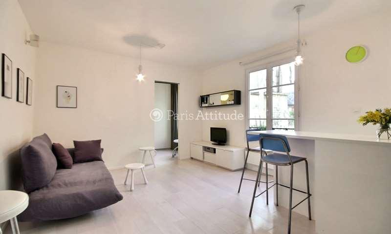 Location Appartement 1 Chambre 35m² rue du Vertbois, 75003 Paris